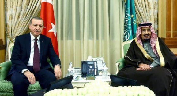 پادشاه عربستان و اردوان