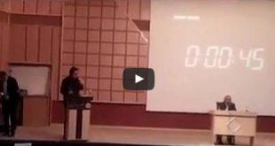 نقد شجاعانه دانشجوی دانشگاه مدنی تبریز به اعدامهای 67