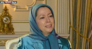 مريم رجوي حل نهايي بحران منطقه درسرنگوني رژيم ولايت فقيه است