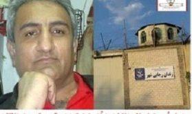 تعلل و مخالفت با مرخصی استعلاجی افشین بایمانی توسط مسئولین زندان