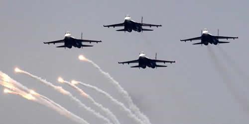 جنگنده های روسی
