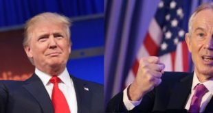 بلر و ترامپ