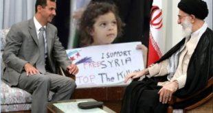 امضای قرار داد رژیم آخوندی با بشار اسد براي تأسيس كارخانجات تسليحاتي و گسترش حضور پاسداران در سوریه