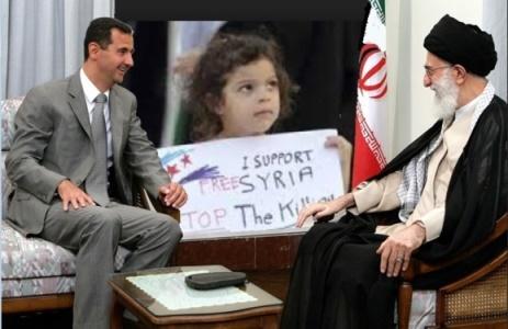 خامنه ای و اسد