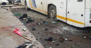 انفجار در مسیر اتوبوس
