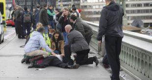 دستکم ۱۲ زخمی در یک حمله روبروی پارلمان بریتانی