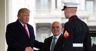 انتقاد ترامپ از توافق اتمی با ایران در دیدار با نخستوزیر عراق