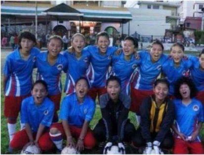 فوتبال زنان تبت