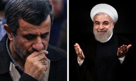 احمدینژاد - روحانی