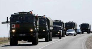 روسیه نیرو و تجهیزات نظامی سنگین به مرز کره شمالی اعزام کرد