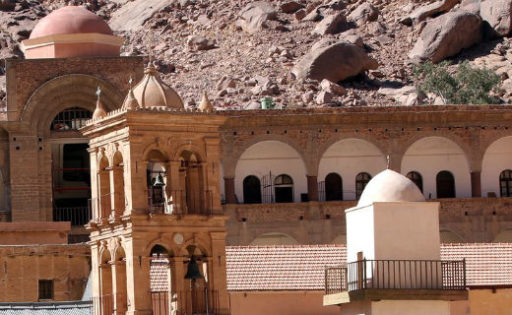 دیر کاترین مقدس در شبهجزیره سینا