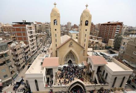 """کلیسای """"مارجرجس"""" در شهر طنطا"""