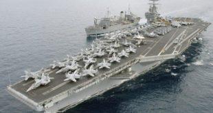 کره شمالی: هواپیمابر هستهای آمریکا را غرق میکنیم