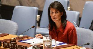 نیکی هیلی: فعالیتهای ایران در خاورمیانه سخت ویرانگر است