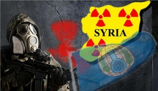 سلاحهای شیمیایی , سوریه