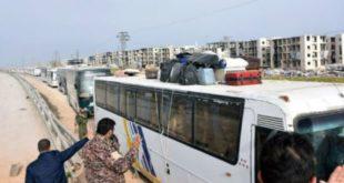 جابجایی شیعه با سنی در چهار شهر سوریه از سر گرفته شد
