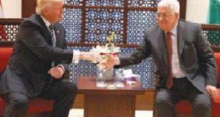 ترامپ طرح خود برای صلح در فلسطين را طی یک ماه اعلام خواهد کرد