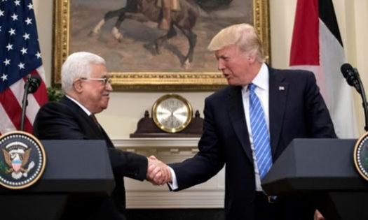 محمود عباس - ترامپ
