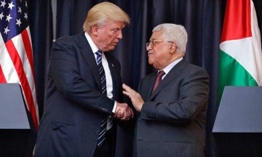 ترامپ در دیدار با عباس