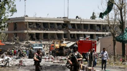 انفجار یک خودروی انتحاری در محله دیپلماتیک شهر کابل