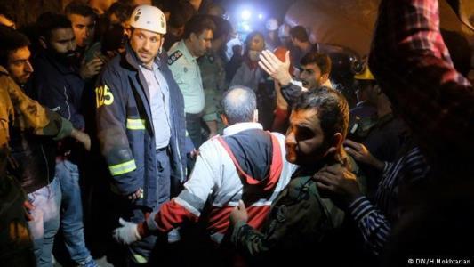 انفجار معدن آزادشهر