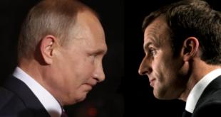 ماکرون قصد دارد پوتین را به چالش بکشد