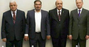 دیدارهای شمخانی با مسئولان شورای امنیت ملی افغانستان، روسیه، سوریه و عراق