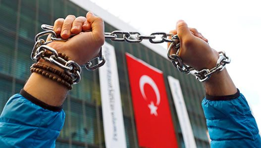 سرکوب دولت ترکی