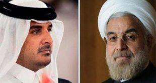 حمایت قاطع تهران از دوحه در گفتوگوی تلفنی روحانی با امیر قطر