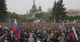تظاهرات ضد فساد در مسکو