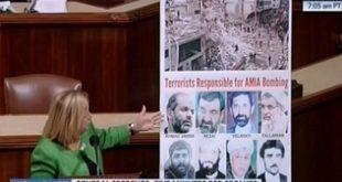 کنگره آمریکا : فراخوان ایلیانا رزلهتینن به حسابرسی از رژیم آخوندی بهخاطر عملیات تروریستی بوئنوس آیرس