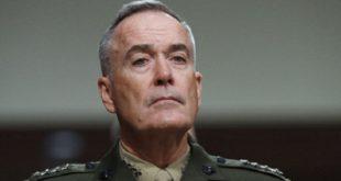 رئیس ستاد مشترک ارتش آمریکا : ما بطور روزانه درگیر تأثیرات اعمال بدخواهانه ایران هستیم