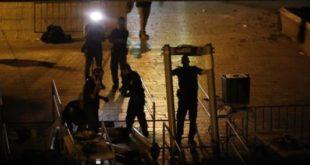 اسرائیل گیتهای امنیتی فلزیاب را جمع کرد