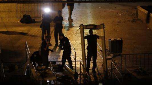 اسرائیل گیتهای امنیتی فلزیاب