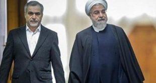 حسین فریدون در کنار برادرش حسن روحانی