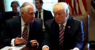 دونالد ترامپ از موضع وزیر امور خارجۀ خود در بارۀ ایران بسیار خشمگین است