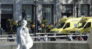 خبرفوری:حملۀ تروریستی در مرکز بارسلون: حداقل ١٣ کشته و بیش از ٥٠ زخمی (دولت کاتالونی)؛ گروه «دولت اسلامی» مسئولیت این حمله را بر عهده گرفت