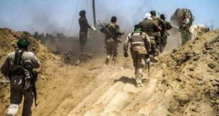 الحشد الشعبی) عراق