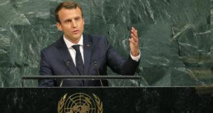 رئیسجمهوری فرانسه: مقابله با برنامه موشکهای بالستیک ایران ضروری است