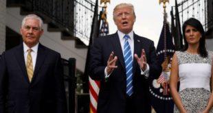 ترامپ و مشاوران نزدیک