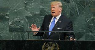 ترامپ رژیم ایران را جنایتکار و یاغی خواند و گفت نباید اجازه داد رژیم جنایتکار ایران به اقدامات بیثبات کنندهاش ادامه دهد