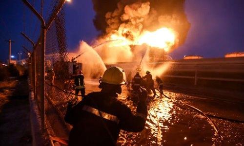 حوادث نفتی