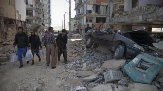 زلزله در غرب ایران
