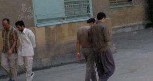 ایران – تحصن زندانیان سیاسی اوین در هواخوری