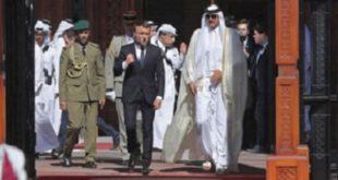 مکرون در قطر: باید حضور ایران در خاورمیانه را محدود کرد