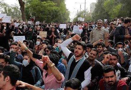 اعتراضات مردمی در اهواز