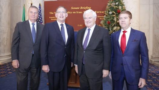 سنای آمریکا - کنفرانس در سالن تاریخی کندی