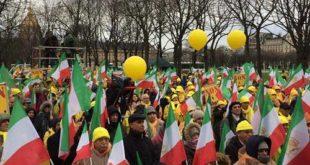 تظاهرات ایرانیان در پاریس به مناسبت روز جهانی حقوق بشر عليه اعدام و شكنجه