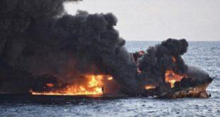 """غرق شدن نفتکش ایرانی؛ """"فاجعهای زیست محیطی در ابعاد تاریخی"""""""