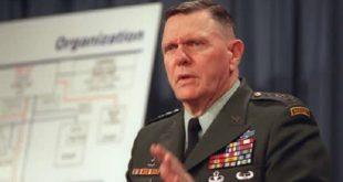 ژنرال جک کین: باید جلوي  رفتار شرورانه رژیم  ایران بایستیم ،ما باید که علیه ایران سازماندهی شویم.